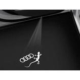 『【スタッフ日誌】Audi Door Entrance LED Ver.1 - 4rings & Geckoご紹介動画』の画像