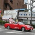 2003年 第53回湘南ひらつか 七夕まつり 織り姫 その1(市中パレード1)