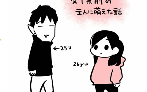 【交際前の主人に萌えた話】