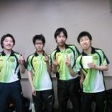 『平成26年度仙台市春季卓球リーグ戦』の画像