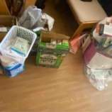 『紙ゴミ集め』の画像