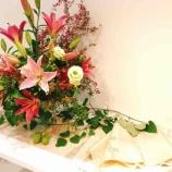 『暮らしに活かす薬膳セミナー終了後、お花の作品展に行ってきました♪』の画像