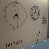 『【ミラノサローネ2013】nomonの時計』の画像