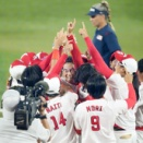 【速報】女子ソフトボール 北京五輪以来13年ぶり 金メダル獲得