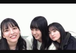 可愛い3人娘w 遠藤さくら×賀喜遥香×早川聖来、たまらんgif3連発wwwww
