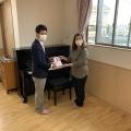 保育園へピアノ寄贈