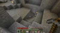 廃坑拠点に枝掘り用の階段を作成