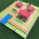 【画像】ポケモン赤緑のMAPを画用紙で作ってみた