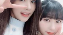 HKT48田中美久、インスタにIZ*ONEヘウォン&奈子との動画を投稿