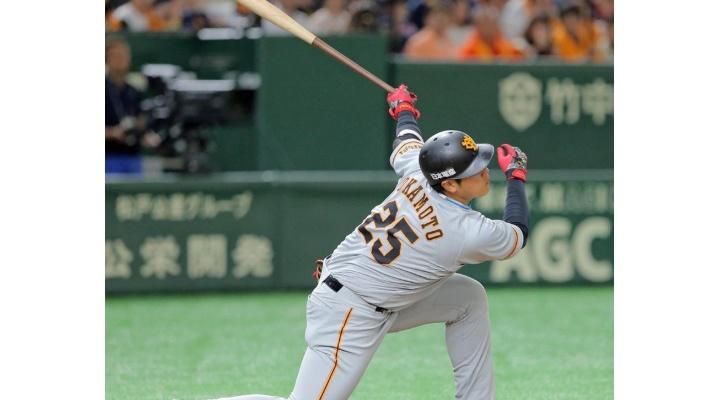 巨人・岡本和真  .259(147-38)  8本塁打  23打点  OPS.786