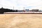 松塚公園が戻ってきた?!私市幹線汚水貯留槽設置工事が完了しつつあるみたい