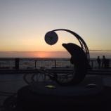『ノシャップ岬(野寒布岬):北海道稚内市ノシャップ(夕暮)』の画像