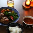 北欧食器で晩ごはんはやっぱり気分が上がるわね♪⤴えっ廃盤?!( ゚Д゚)