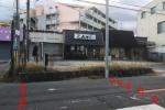 JR星田駅近く、とり焼きひゅうが前の横断歩道の70センチ位の段差が工事で整備されてる!