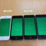 『iPhone 5s 加速度センサー <その後>』の画像