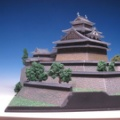 1/500 松江城  製作 1 初回ですが完成