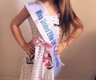 【英国】6歳なのに完璧な造形、ミスコン荒らしの美少女に注目