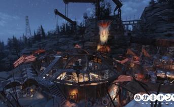 メタルドーム(建設中)