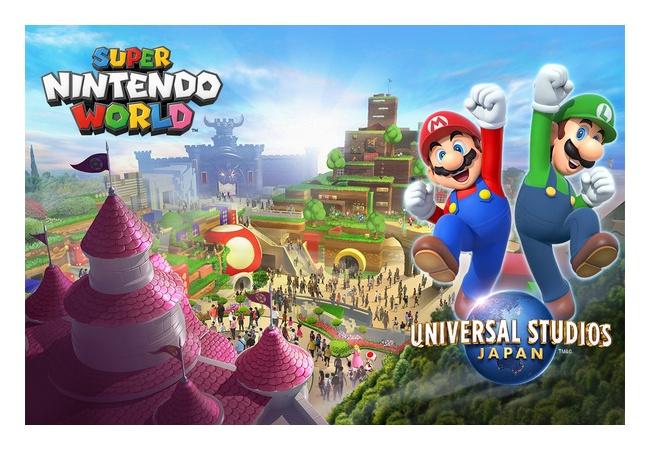 【任天堂ワールド】USJにリアル『マリオカート』実装!!イメージ動画も公開、オープンは東京オリンピック前を予定