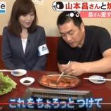 『【野球】女子アナを引きつらせた元中日・山本昌の特殊すぎるカルビの食べ方とは?』の画像