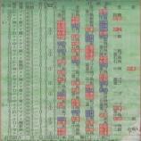 『坂本の開幕から35試合全打席結果』の画像