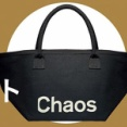 eclat(エクラ) 2021年 10月号   雑誌付録   Chaos 黒バスケット型トート