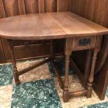 『ほっとする家具・プロヴィンシャル・ゲートレッグテーブル・飛騨産業』の画像