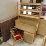『【北欧テイスト・日進木工の家具2012】n-kids   デスク3点にチェア・KIC-003』の画像