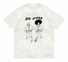 花くまゆうさく 柔術黒帯Tシャツ