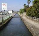 用水路流されたJK やはり通学途中だった模様