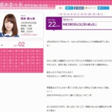『【元乃木坂46】橋本奈々未のブログ 完全閉鎖・・・』の画像