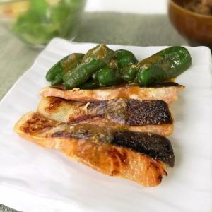 お弁当にもぴったり♪秋鮭の味噌漬け