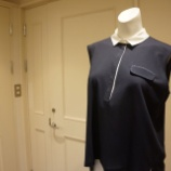 『FABIANA FILIPPI(ファビアナフィリッピ)襟付きノースリーブプルオーバー』の画像