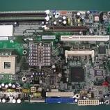 『マザーボードとPC電源部のコンデンサ交換』の画像