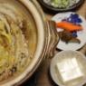 白菜使い切りに白菜と豚バラのミルフィーユ鍋献立