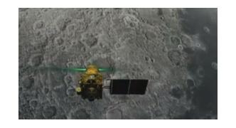 月着陸中のチャンドラヤーン2号、最終降下中に月着陸船と交信不能に!