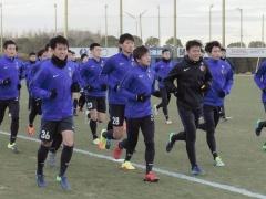 去就が注目される柴崎岳、鹿島のチーム練習に参加