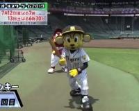【悲報】阪神のトラッキーさん、声が出る