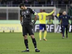 【 悲報 】イタリア代表GKブッフォン、涙の代表引退!「これで終わりだ。時間とは暴君だから・・・」