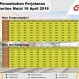 『Tangerang線再増発(4月16日)』の画像