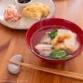 「きのう何食べた?」(よしながふみ)の関東風雑煮、黒豆、ほたて貝柱入り紅白なます、卵焼き