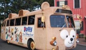 【遊園地】   日本のディズニーシーから 可愛いダッフィーのバスが 登場! でも 海外では不評?   海外の反応