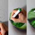 これが絵?イタリアの3Dアーティストが書くエメラルドが本物にしか見えなくて凄い!!