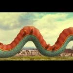 【中国】スペイン、マドリード市が春節を祝うため描いた「龍」に中国人の腹筋崩壊 [海外]