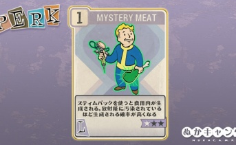Fallout 76:Mystery Meat(Luck)