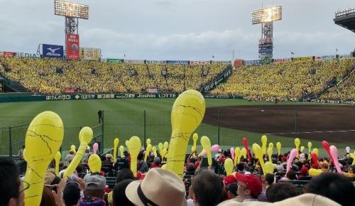 阪神vs広島での甲子園ジェット風船を見た海外MLBファンの反応