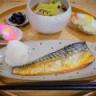 塩鯖と焼き魚定食