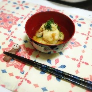 鱧出汁で 鱧の天ぷら