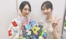 欅坂 佐藤詩織と日向坂 金村美玖の2ショットが美しすぎる!