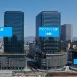 『ジャパンリアルエステイト投資法人・大阪府の大型複合施設グランフロント大阪の取得完了』の画像
